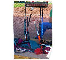 Baseball Bats Poster