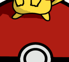 Pikachu Pokeball Sticker