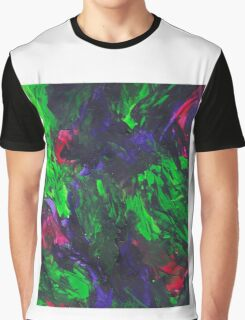 Vibrant Abstract Swatch Painting Graphic T-Shirt