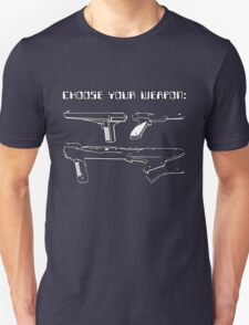 Retro Gamer - Choose Your Weapon (Lightgun) T-Shirt