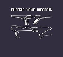 Retro Gamer - Choose Your Weapon (Lightgun) Unisex T-Shirt