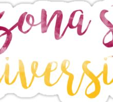 Arizona State University Watercolor Sticker