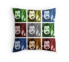 Kubrick's cube Throw Pillow