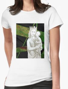 """""""Tiny Mary No. 1"""" Womens Fitted T-Shirt"""