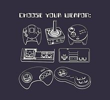 Retro Gamer - Choose Your Weapon (Control Pad) Unisex T-Shirt