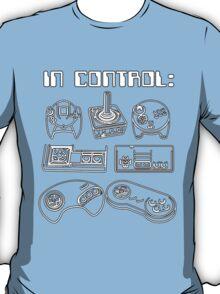 Retro Gamer - In Control T-Shirt