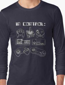 Retro Gamer - In Control Long Sleeve T-Shirt