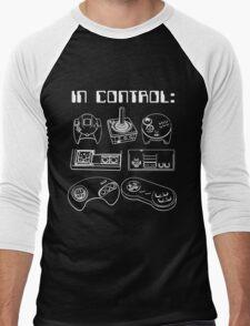 Retro Gamer - In Control Men's Baseball ¾ T-Shirt