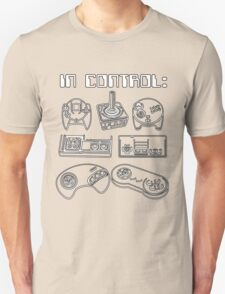 Retro Gamer - In Control Unisex T-Shirt