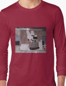 Dalek Graffiti - Banksy Style Long Sleeve T-Shirt