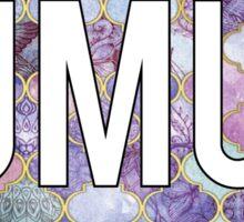 James Madison University Purple Sticker