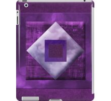 nothing but purple iPad Case/Skin