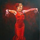 Flamenco dancer by wonder-webb