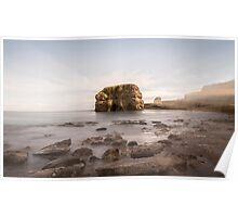 Marsden Rock Streaks Poster