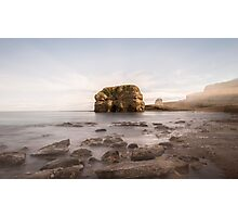 Marsden Rock Streaks Photographic Print