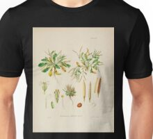 The botany of the Antarctic voyage of H M  discovery ships Erebus and Terror in the Years 1839 1843 Joseph Dalton Hooker V1 003 Unisex T-Shirt