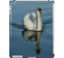Swan Symmetry -  Graceful Cygnus Olor iPad Case/Skin