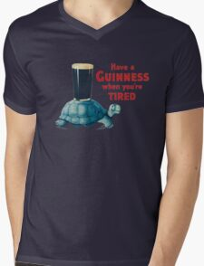 HAVE A GUINNESS WHEN YOUR'E TIRED Mens V-Neck T-Shirt