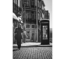 The Dying Telephone Booth Photographic Print