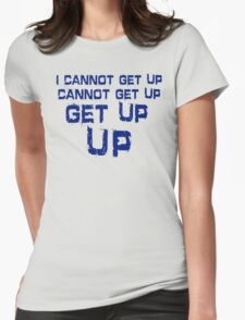 get up blue T-Shirt