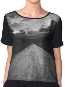 Road to nowhere... Chiffon Top