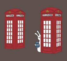 London Telephone Box and A Bunny Baby Tee