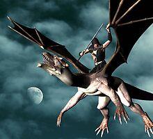 Dragon Sky Warrior by Icarusismart