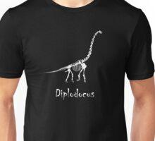 Diplodocus Skeleton Unisex T-Shirt