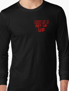 get up red small T-Shirt
