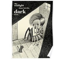Light Shining Into A Dark Room Poster