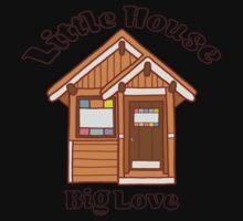 Tiny house love One Piece - Short Sleeve