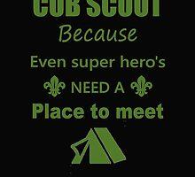 Cub Scout by waylander99uk
