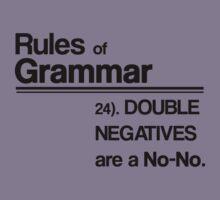 Double Negatives No-No Kids Tee