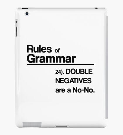 Double Negatives No-No iPad Case/Skin