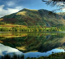 High Snockrigg....Reflections In A Lake by Jamie  Green