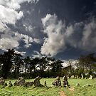 The Rollright Stones at Beltane by Angie Latham