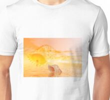 Couple on the beach Unisex T-Shirt
