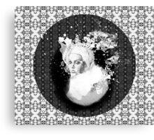 girl & skeleton patterns VII Canvas Print