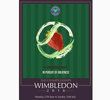 Wimbledon 2016- Strawberry and Cream } In Pursuit To Greatness  Unisex T-Shirt