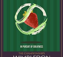 Wimbledon 2016- Strawberry and Cream } In Pursuit To Greatness  by anshK