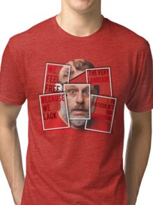 The Real of Slavoj Zizek Tri-blend T-Shirt