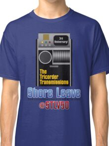 The Tricorder Transmissions - Shore Leave STLV50 Classic T-Shirt