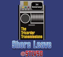The Tricorder Transmissions - Shore Leave STLV50 Unisex T-Shirt
