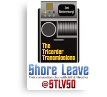 The Tricorder Transmissions - Shore Leave STLV50 Canvas Print