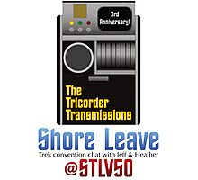 The Tricorder Transmissions - Shore Leave STLV50 Photographic Print