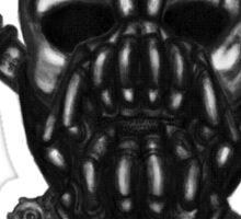 Bane Pirate (black) Sticker