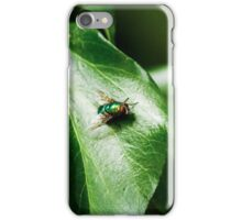 Fly on leaf iPhone Case/Skin