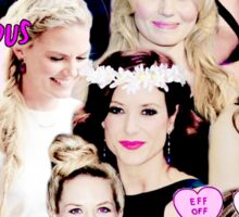 Jennifer Morrison, Kate Walsh, Dianna Agron Sticker