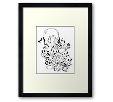 The Octopus and the Crab Framed Print
