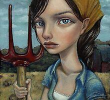 Farm Girl by tanyabond